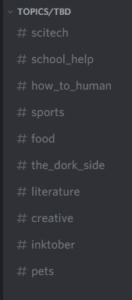 "The same category ""open"" with muted channels hidden."
